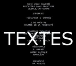 Godard Textes
